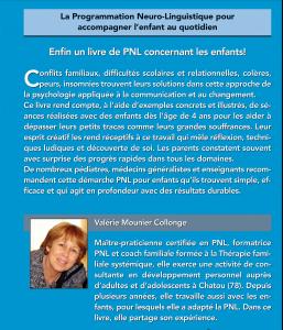 Livre PNL pour les enfants Valerie Mounier Collonge
